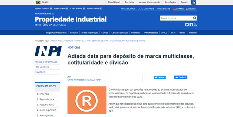 web ley de marcas brasileña.