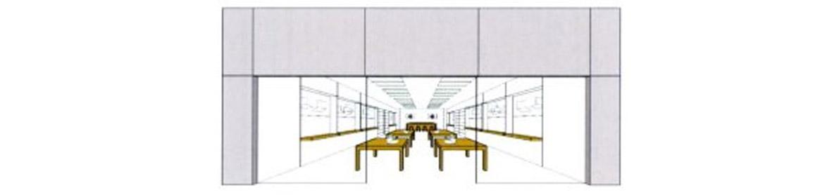 interior tienda apple