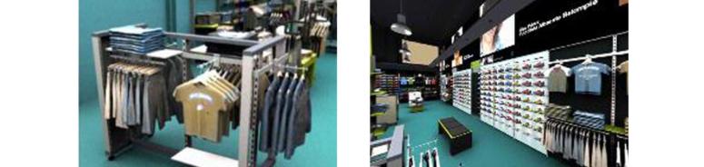 La protección de la imagen y apariencia del interior de un local de comercio.
