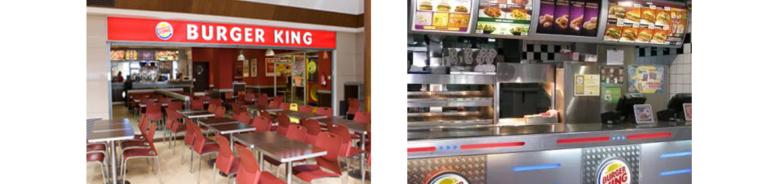 Burger king restaurante