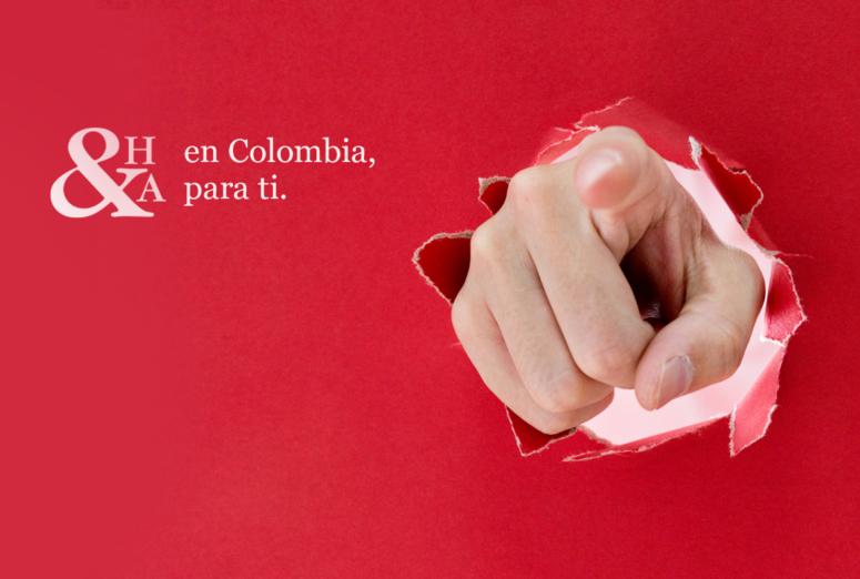 ¡Abrimos en Colombia!