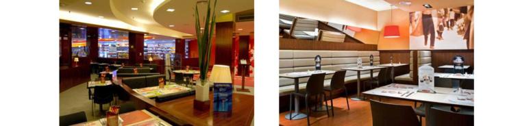restaurante VIP interior